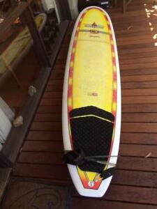 Southport Epoxy Malibu Surfboard: 9ft 2in Great Condition