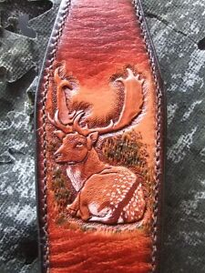 Gun sling strap fallow deer blended hunting sambar stalking fellow