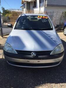 2001 Holden Barina Hermit Park Townsville City Preview