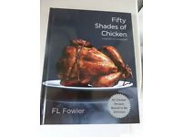 'Fifty Shades of Chicken' recipe book, unwanted gift