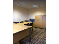 Various office space available with meeting room