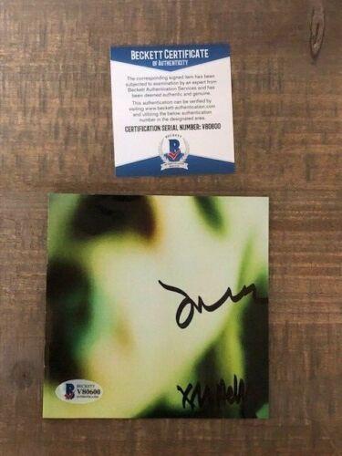 Smashing Pumpkins James Iha +Melissa Pisces Iscariot Signed Autographed CD BAS