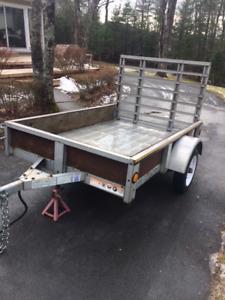 Utility Trailer - galvanized 4 X 6