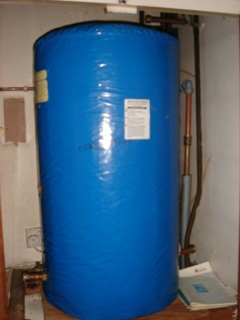 Copper cylinder for central heating system recently removed indirect ...