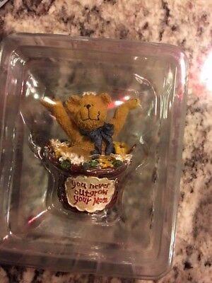 "Boyds Collection Basketbearies 2004 ""Kiddo You Never Outgrow Your Mom"""
