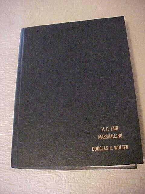 1984 Veiled Prophet Fair Marshalling Book Rules Receipts Passes Historical Info