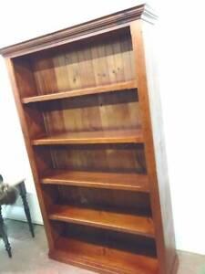 F38013 Pine Timber Bookshelf Bookcase Mount Barker Mount Barker Area Preview