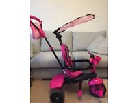 SmarTrike Safari ride-on Flamingo girls bike