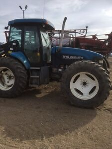 New Holland TV140 Tractor 4WD