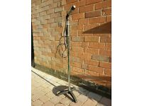 Quality Microphone stand complete with Shure Unidyne B microphone