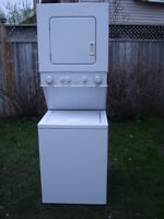 "24"" wide stackable washer and dryer"