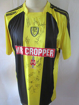 Burton Albion 2012-2013 Squad Signed Home Football Shirt COA  BNWT /34413 image