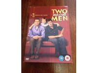 EXC *TWO AND A HALF MEN* DVD Boxset Complete 1st Season 24 Episodes On 4 Discs