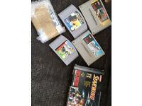 vintage Nintendo Games