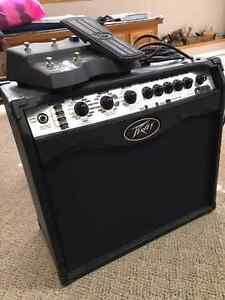 Peavey VYPYR VIP 2 40W  Modeling Combo Amp and Sanpera I Pedal
