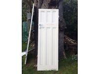 Edwardian wood panel doors