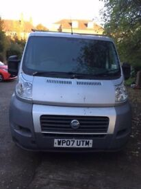 Fiat Ducato 100 Multijet SWB, Low mileage 5 speed manual (No VAT)