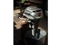 HONDA (2 horse power 4 stroke) Outboard Motor