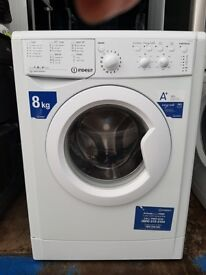 8kg 'Indesit' Washing Machine - Good condition / Free local delivery and fitting