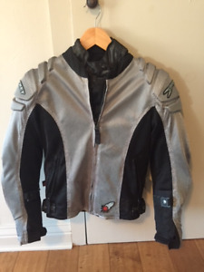 women's motorcycle jacket mesh small (new)