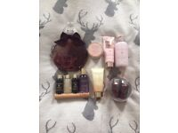 Job lot of Bath and body lotions by BAYLISS AND HARDING