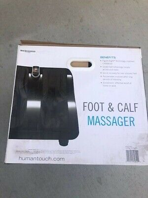 Human Touch HT-Reflex 2 foot and calf massager new in factory sealed box.