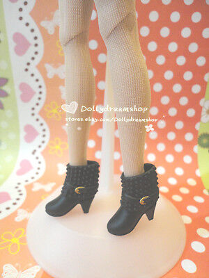 Doll Shoes~ Fashion Black Ankle boot 1pair-LIV/Poppy Parker/Azone Pure Neemo on Rummage