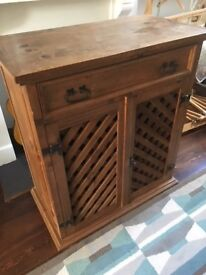 Solid Wooden Cabinet.