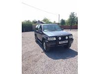 1997 Vauxhall Frontera Zanderigo 2.5 Turbo Diesel 4x4 Cheap