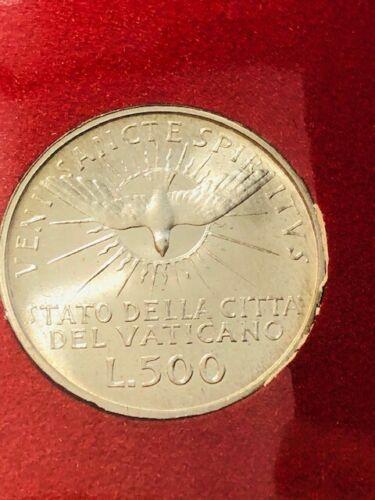1963 Vatican City SILVER 500 LIRE SEDE VACANTE