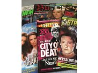 Dr who, star trek, 24, charmed, sfx, buffy etc magazines