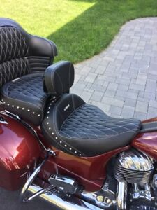 Indian Roadmaster Seat w/Backrest
