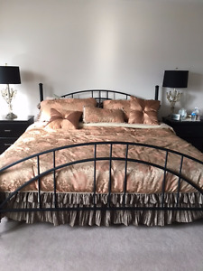King Size Bed Iron Frame for sale