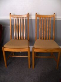 Ercol Penn Chairs 1138 x 4 (willing to sell in pairs)