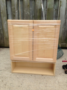 New Cabinet Brand new. Never installed. Paid $100.00 only asking