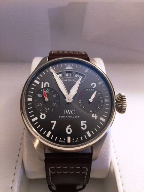 IWC IW502702 BIG PILOT'S WATCH ANNUAL CALENDAR SPITFIRE - watch picture 1