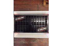 BNIP *CARLING* Beer Drip Tray Classic Logo Retro Party BBQ Bar Collectable NEW