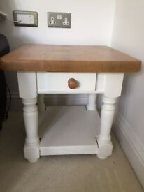 Farrow & Ball upcycled lamp table