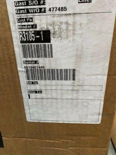 GAST R3105-1 REGENERATIVE BLOWER R31051 M19402  (NEW)