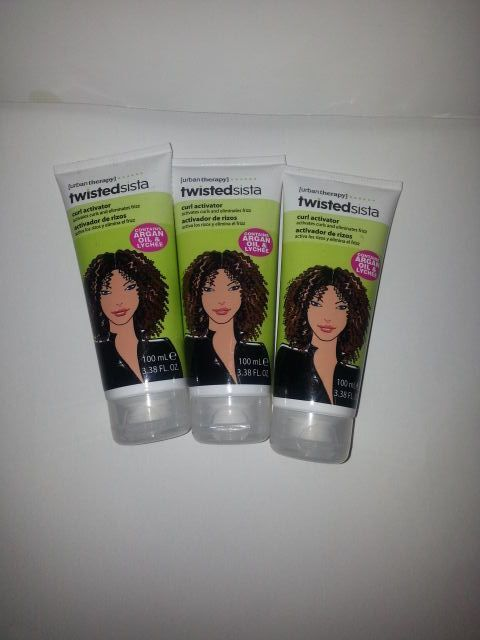 LOT OF48 TWISTEDSISTA CURL ACTIVATOR / ARGAN OIL & LYCHEE