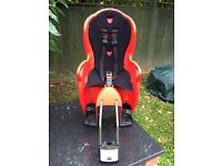 Halfords Child Bicycle Rear Seat – In good condition