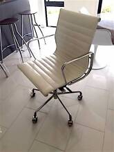 Eames Style LOW back Office Chair WHITE (2Years Old) Cooktown Cook Area Preview