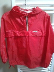Red K-Way Jacket sz-S/P Womens- A1