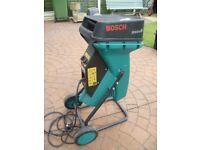 Bosch AXT 2000 HP Silent Garden Shredder.