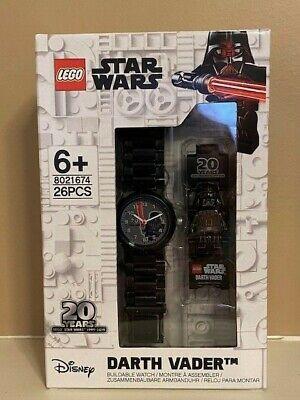LEGO Disney Star Wars 20th Anniversary Darth Vader Watch 8021674