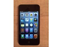 iPod Touch 4th Generation 8GB – black/silver good condition £60