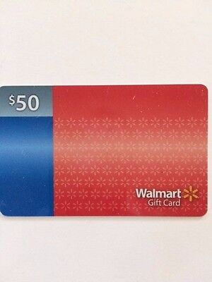 $50.00 Walmart Gift Card
