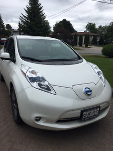 2015 Nissan Leaf SL Hatchback-Electric