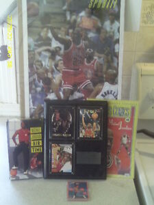 5 ATICLES DE COLLECTION DE MICHAEL JORDAN DES BULLS DE CHICAGO