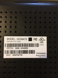 Cable Modem-THOMPSON DCM475